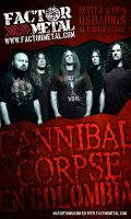 Flyer Cannibal Corpse by bergslay