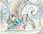 A Winter's Stroll by LianaTheFangirl