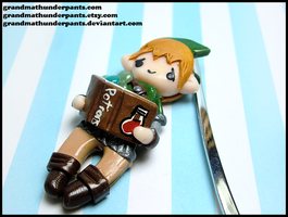 Link and Navi Bookmark by GrandmaThunderpants