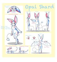 Kyet Character Sheet: Opal Shard by KGScribbles