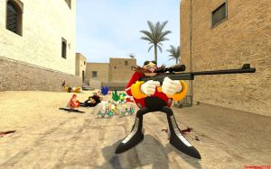 Eggman Plays Counter Strike by Someguy2132