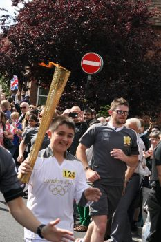 when the olympic torch came to town... by amaterfotografer
