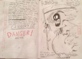 Gravity falls journal replica-Ghosts Category 10 by gravityfalls08