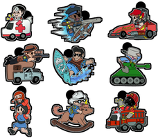 :: TF2 Rides :: by Tigerman-exe