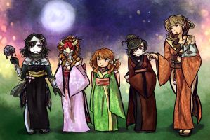 The Great Lunar Revel by Linkerbell