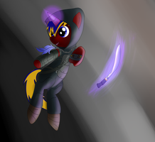 Orion the therf by Silverwindpegasus