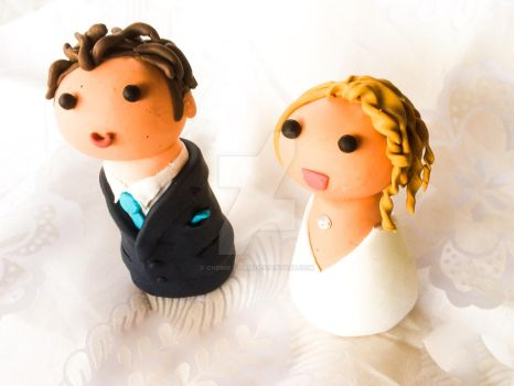 Chibi Wedding toppers 3 by Chemie-Chan