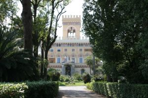 Arenzano Castle in the park by Nabucodorozor