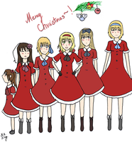 APH Merry Christmas~! by KekiHaku