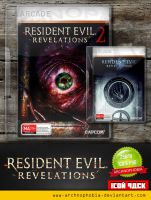 Resident Evil: Revelations (Icons Pack) by archnophobia