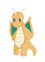 Dragonite by bowser-jr99