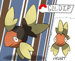 Goldfish Fakemon by TRspicy