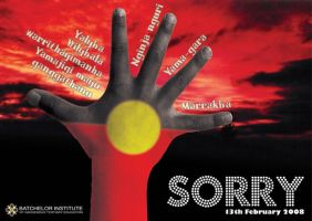 Sorry Poster by scarlet-rain