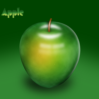 An Apple by aegemy