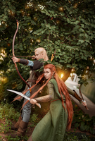 Elves by Karenscarlet