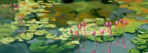 Water Lily by gfaruque