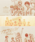 KnB - Kiseki no sedai by rainniedays