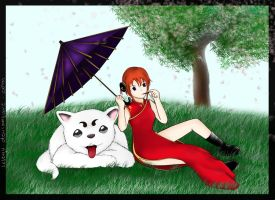 kagura and sadaharu digital by leleyu