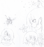 Dream and nightmare story/poster WIP by ZombiedevilXD