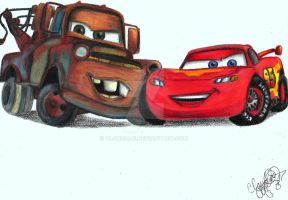 Disney Pixar-Cars by Claudia-G