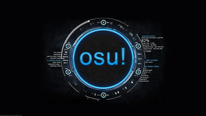Osu Wallpaper by dickywardhana