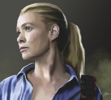 Walking Dead - Andrea by ArchXAngel20