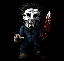 SD Michael Myers by DeTinteyLengua