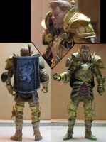 King Alistair Custom Figure by blackmottledhamster