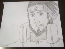 Asuma Sarutobi by carebear19364