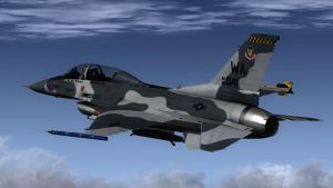 F-16 Aggressor 2 by agnott