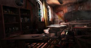 scary class room by maorenc