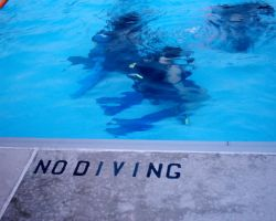 No Diving by Mer-Kay-Zim-Gel