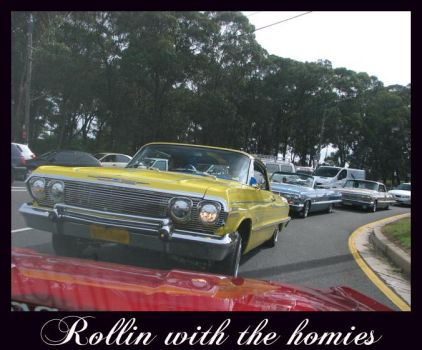 ROLLIN WITH THE HOMIES by INSPIRED-IMAGES