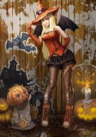 2011.09.30.halloween by CraneBerserkerz