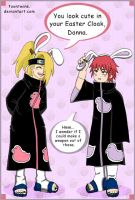 Akatsuki Bunnies by ToonTwins