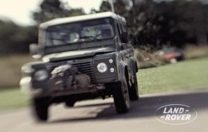 Land Rover Defender - LensBaby 2.0 by BrknRib