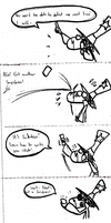 School doodle 9 - Snickers - The Snyquel by Sny--Eamdray