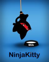 NinjaKitty Poster by TentacleKitty