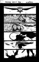 Another red sonja page by stompboxxx