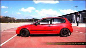 JDM Red Civic 1 - AIA by DjN3oX