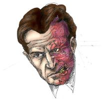 Two-Face Portrait by IronOutlaw56