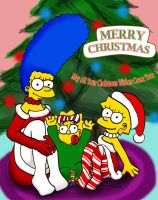 A Big Simpsons Christmas Wish by tinymik