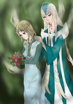 Elyon and Phobos by PixelPrinzessin