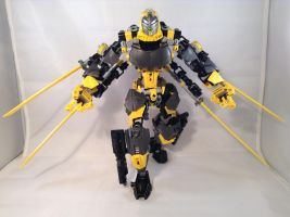 Toa Boltrax, Toa of Lighting 02 by TheBoltTron