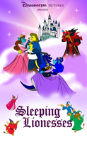 Commission - Sleeping Lionesses Poster by BennytheBeast