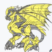 Armored Dragons: Bumblebee by DgShadowChocolate