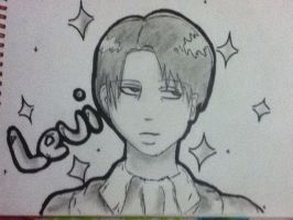 Levi Rivaille from Attack on Titan. by LnZ98