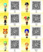 Tomodachi Life-The Koopalings QR Codes by TheSingettesRBack