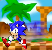 Sonic: The Classic Finished by Segavenom