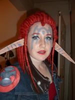 Ashelin Praxis: make up test by NomesCosplay